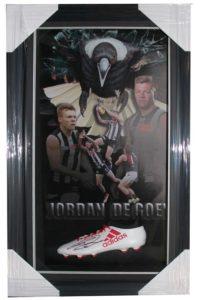 Jordan De Goey Signed Boot