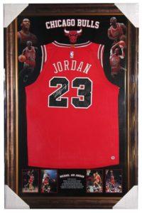 Michael Jordan Personally Signed Bulls Jersey