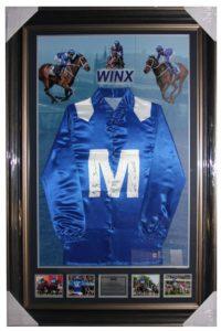 Winx Signed Silks Jockey-Trainer
