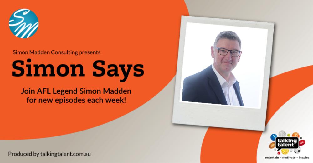 Simon Says Promo Flyer.